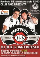 Club TAO - PartyDul Kiss FM by semaca2005