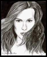 Kate Beckinsale by JenniferTheFirst