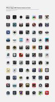 Apps with Camera Icons by MoonlitxReverie