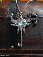Archangel Key by BlackWings-jewelry