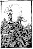 Fafhrd and the Gray Mouser by davidnewbold
