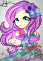 Fluttershy | Legends of Everfree by Yitsune-Melody