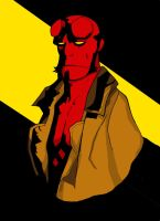 Hellboy Color by Aleph777