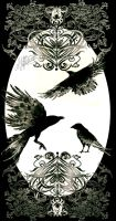 Almost Alice details - Crows by I-Andreea-I