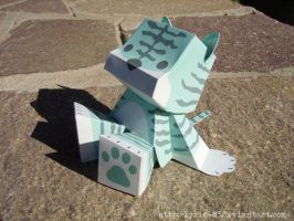 The Tiger - Papercraft by Lyrin-83