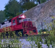 FAST FREIGHT LINE by simulatortrain