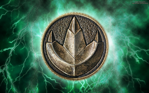 New MMPR HD Power Coin Wallpaper (Green) by RussJericho23