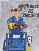 PnF+TF2 - Phineas as Engineer by K17703R