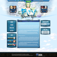 Ragnarok Web Deisgn by Christophere13