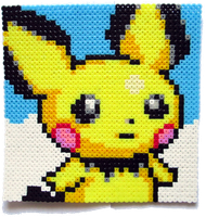 Pichu Perler Portrait [for sale]