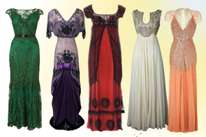 Vintage gowns by Parvati1980