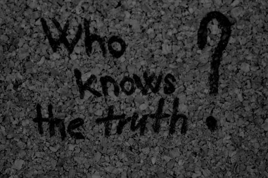 Who knows the truth? by Destinytte