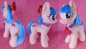 Brush-A-Plush Miss Coco Pommel plushie by Zooher-Punkcloud