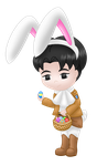 Levi bunny colored by MikariStar