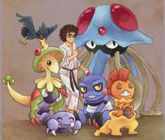 commission - more pokemans by shubasami