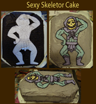 Smexxy Skeletor Cake by wulfae