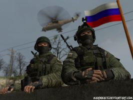 Just Russian Soldiers by MarineACU
