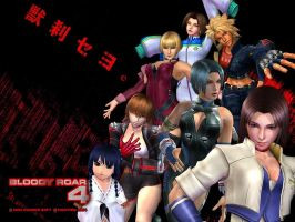 Bloody Roar 4 Girls wallpaper by Bloody-Roar-Fans