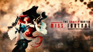 LoL Wall - Miss Fortune - The Bounty Hunter by Sirhaian