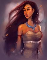 Pocahontas. by asieybarbie