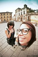 Tuscany: Tourist In Lucca by Agtpunk