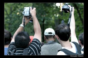 Who needs a viewfinder by Calzinger