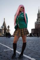 Moka in Russia Cosplay by Taorich