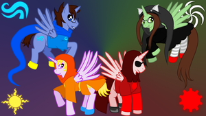 Alicorn-tier Kids 1366x768 by KankurouNoKugutsu