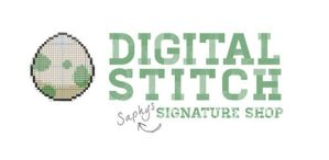 Digital Stitch: Saphy's Signature Shop Banner by SapphireStar4eva
