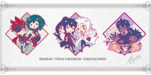 D-Gray-Man Hallow Charms collection by Miyukiko