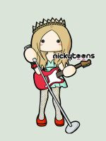 Avril Lavigne - Prom Princess by NickyToons