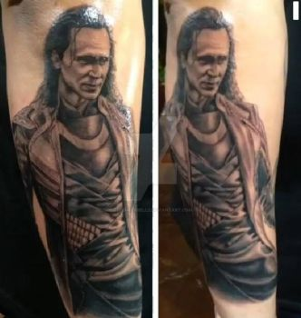 Loki Tattoo by DecemberBellz
