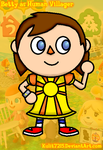 Betty as a Human Villager by Kulit7215