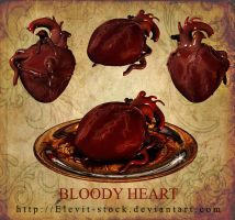 E-S Bloody heart by Elevit-Stock