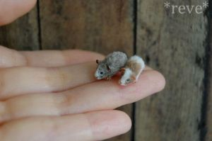 Miniature Guinea Pigs * Handmade Sculpture * by ReveMiniatures
