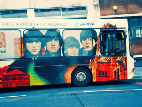 Beatles Bus in Liverpool by RockNRoll-Suicide