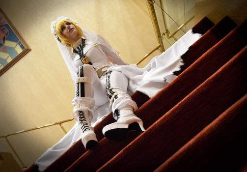 Fate Stay Night: Saber by veriedian