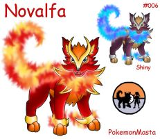Novalfa 006 by PokemonMasta
