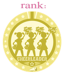 Cheerleader badge by Chooy64