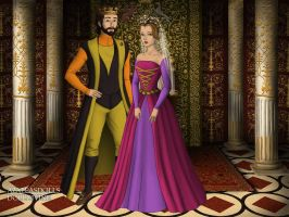 King Stephan and Queen Leah. by Katharine-Elizabeth