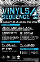 Vinyls Sequence 4 Party Flyer by glampop