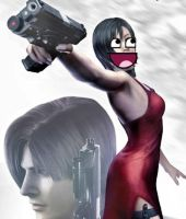 Ada Wong-Feeling Awesome by ShadowSpiritPG