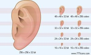 Ear Icon by science-icons