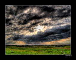 Spring Fields - Strange Sky by rici66