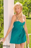 Anna - Turquoise 3 by TheBigTog