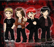 MCR Boiz~ (you know you love 'em) by Cherimoya-chan