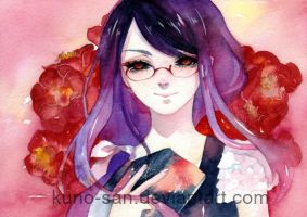 Fanart: Rize from Tokyo Ghoul by Kuno-san