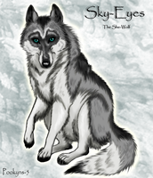 Sky-Eyes 'wolf contest' by pookyhorse