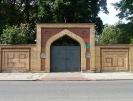 muslim cemetery gate by indeed-stock