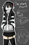 The Mime Anouk :reference OC: by kaleePANDA